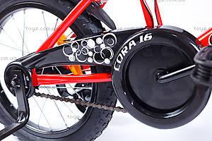 Велосипед двухколесный Cora 16 BMX, красный, RA-35-115, цена