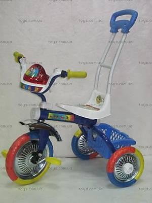 Велосипед 3-х колесный, белый, 9104 БЕЛ