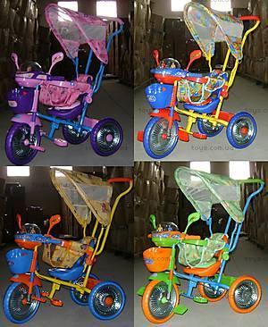 Велосипед 3-х колесный, с круглой крышей, WS828В-1С
