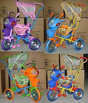 Велосипед 3-х колесный, с тентом, WS828А-1С