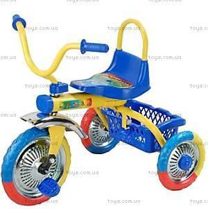 Велосипед 3-х колесный, синий, 9103 СИН