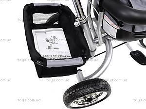 Велосипед 3-колёсный, серый, XG18919-T12-1, цена