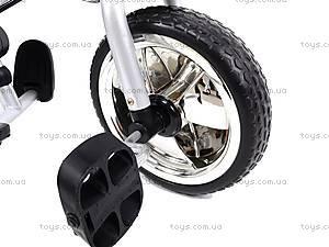 Велосипед 3-колёсный, серый, XG18919-T12-1, игрушки