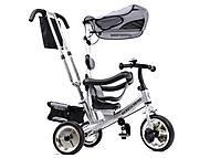 Велосипед 3-колёсный, серый, XG18919-T12-1, отзывы
