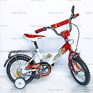 Велосипед «Аист», 12 дюймов, красный, 101201