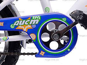 Детский велосипед «Аист» 12 дюймов, синий, 101202, toys