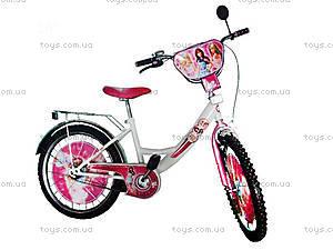 Велосипед «Барби», белый с розовым, BT-CB-0025