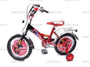 Велосипед «Человек Паук», красно-черный, 14SM RED-BLAC