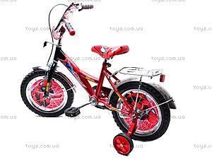 Велосипед «Человек Паук», красно-черный, 14SM RED-BLAC, купить