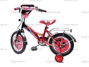 Велосипед «Человек Паук», красно-черный, 14SM RED-BLAC, фото