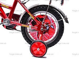 Велосипед «Человек Паук», красно-черный, 14SM RED-BLAC, toys.com.ua