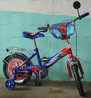 Велосипед «Человек Паук», красно-синий, 14SM BLUE-RED