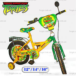 Велосипед «Черепашки-ниндзя» 14 дюймов, 121411