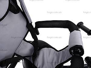 Велосипед детский с бампером, серый, XG18919-T16-5, купить