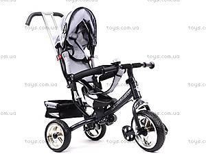 Велосипед детский с бампером, серый, XG18919-T16-5, цена