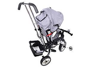 Велосипед детский с бампером, серый, XG18919-T16-5, toys.com.ua