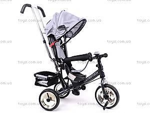 Велосипед детский с бампером, серый, XG18919-T16-5