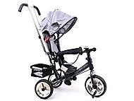 Велосипед детский с бампером, серый, XG18919-T16-5, отзывы