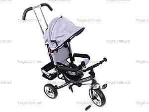 Велосипед детский с бампером, серый, XG18919-T16-5, toys