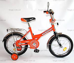 Велосипед для детей, оранжевый с черным, BT-CB-0036