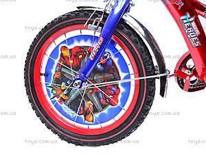 Велосипед двухколесный Marvell Heroes, 131405, toys.com.ua