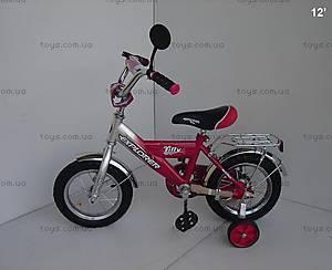 """Велосипед Explorer, 12 дюймов, красный, 12""""Y"""