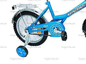 Велосипед Explorer, голубой с синим, BT-CB-0039, купить