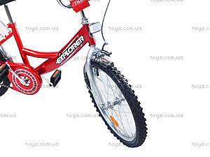 Велосипед Explorer, красный, BT-CB-0033, фото