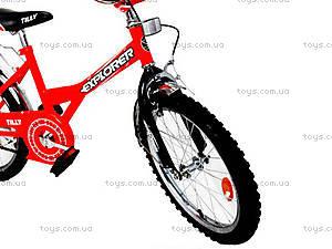Велосипед Explorer, оранжевый с черным, BT-CB-0037, фото