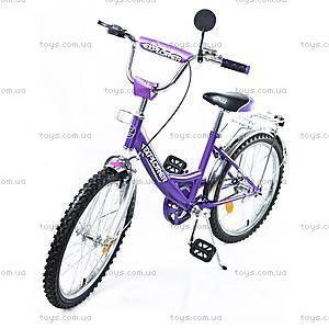 Велосипед Explorer, сиреневый с серебрянным, BT-CB-0034