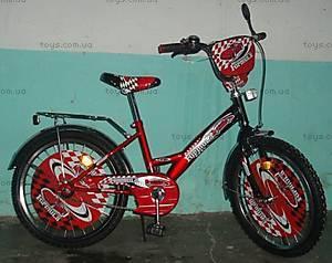 Велосипед «Формула 20» c системой One piece crank, 20F RED-BLACK
