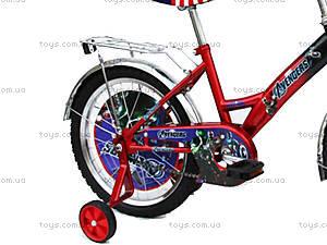 Велосипед «Герои», красно-черный, 18A RED-BLACK, купить