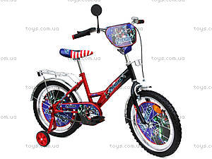 Велосипед «Герои», красно-черный, 18A RED-BLACK