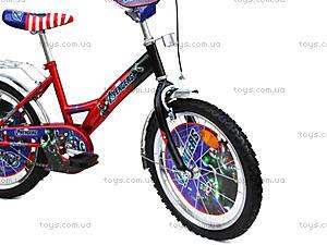 Велосипед «Герои», красно-черный, 18A RED-BLACK, фото