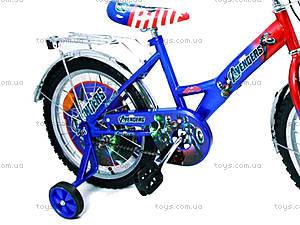 Велосипед «Герои», сине-красный, 18A BLUE-RED, купить