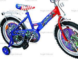 Велосипед «Герои», сине-красный, 18A BLUE-RED, фото