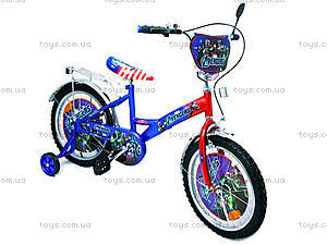 Велосипед «Герои», сине-красный, 18A BLUE-RED