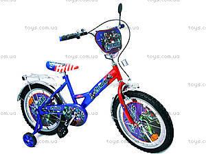 Велосипед «Герои», сине-красный, 18A BLUE-RED, отзывы