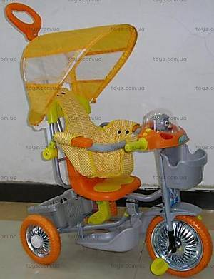 Велосипед интерактивный, оранжевый, 2012