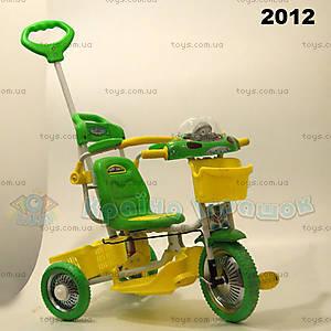 Велосипед интерактивный, зеленый, 2012