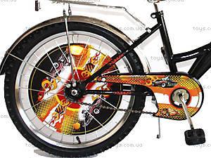 Велосипед «Хот Вилс», черный с желтым, BT-CB-0012, купить