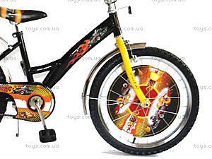 Велосипед «Хот Вилс», черный с желтым, BT-CB-0012, фото