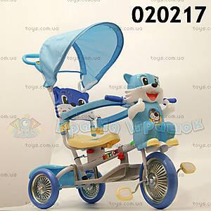 Велосипед «Котенок», синий, 020217