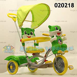 Велосипед «Котенок», зеленый, 020218