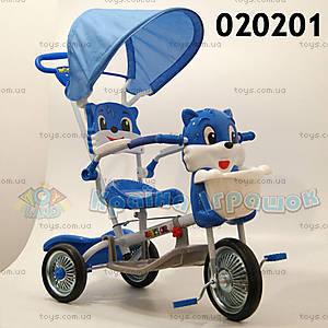 Велосипед «Котик», синий, 020201 СИН