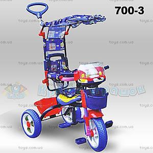 Велосипед красно-синий, 700-3