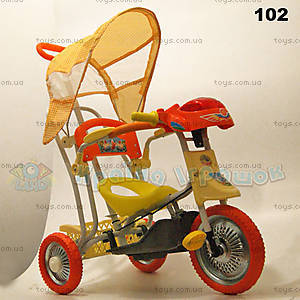 Велосипед «Лето», оранжевый, 102