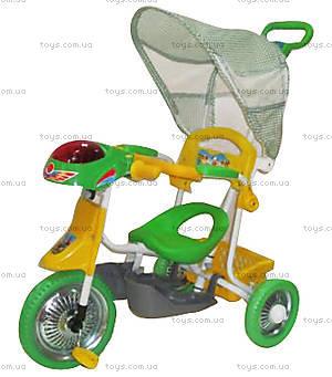 Велосипед «Лето», зеленый, 102