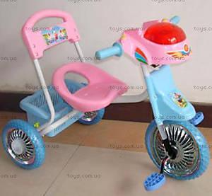 Велосипед Light, розовый, 9105