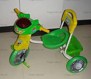 Велосипед Light, зеленый, 9105